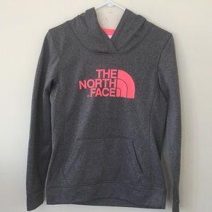 North Face Hooded Sweatshirt S